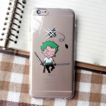Soft TPU One Piece Luffy Case For IPhone 6 6s 6Plus 6plus 5 5g 5s