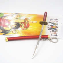 Roronoa Zoro Pirate Hunter Sword Keychain