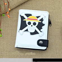 One Piece Anime Wallet Zipper Purse