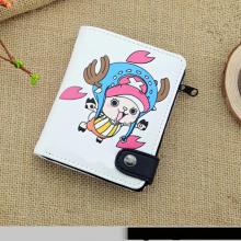 One Piece Anime Wallet Zipper Purse
