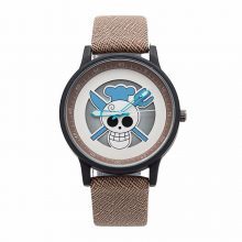 One Piece Anime Skeleton Dial Wrist Watch