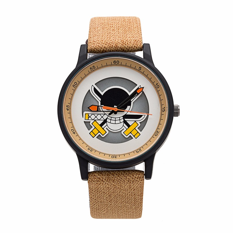 One Piece Anime Skeleton Dial Wrist Watch - One piece ...