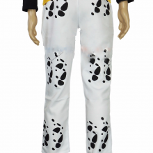 Trafalgar Law Pants Blue White Cosplay Costume