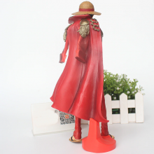 One Piece Luffy Action Figure 20th Red Clothes 24cm