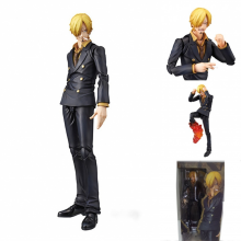 18cm One piece Vinsmoke Sanji movable action figure