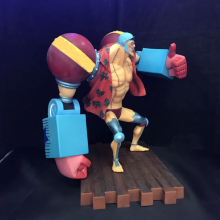 One Piece Franky 20th Anniversary version PVC Figure Model 20CM