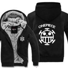 One Piece Trafalgar Thick Jacket Hoodie