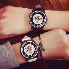 One Piece PU Leather Quartz Watch