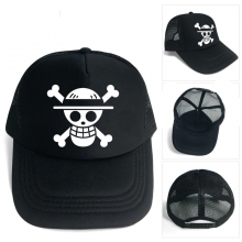 Luffy Trafalgar D Water Law Mesh Baseball Cap