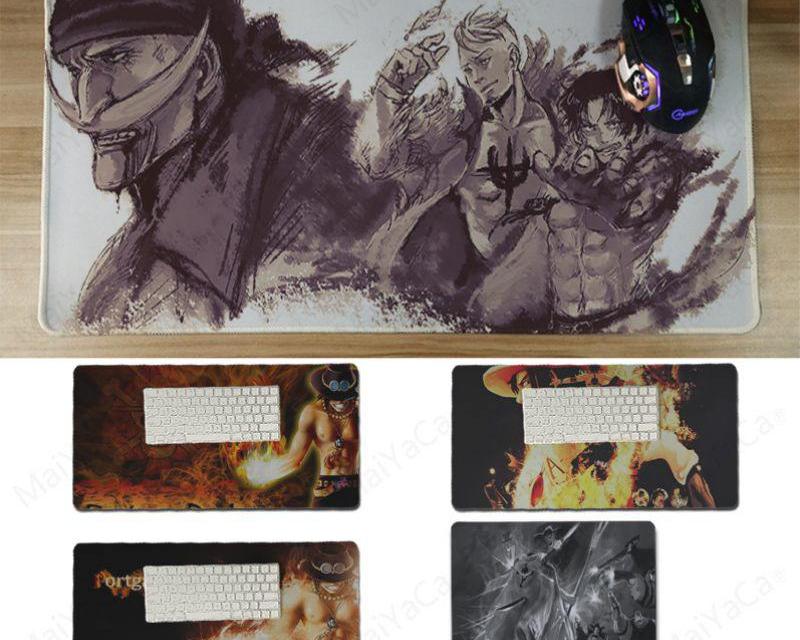 Ace and Edward Newgate Mousepad Size 180x220 300x600x2mm