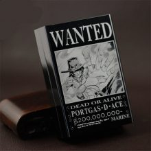 One Piece Wanted Luffy Ace Zoro Aluminium Cigarette Case Box