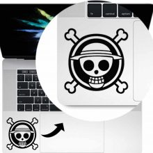 One Piece Anime Skull Notebook Decal Sticker