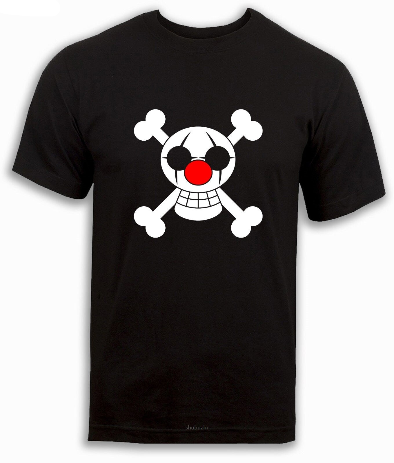 One piece t-shirt, Buggy Pirates,Clown , Pirate flag, anime t shirt Devil Fruit sbz8318