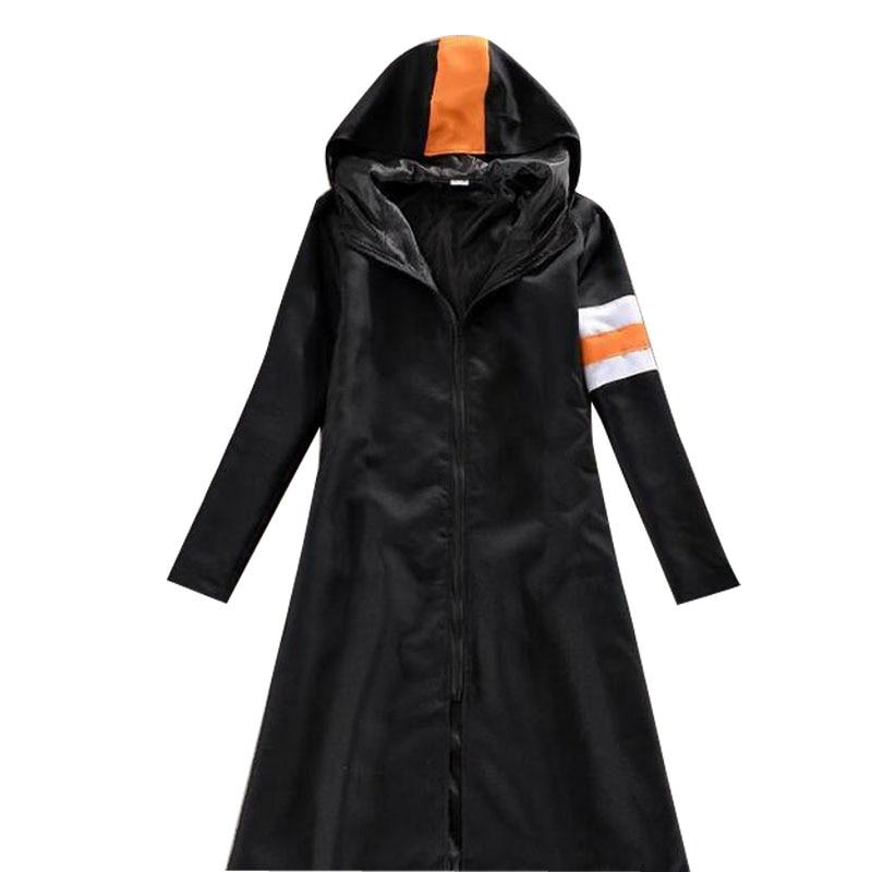 Trafalgar Law Cloak Cosplay Costume Men Black Overcoat